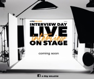 a day BULLETIN presents INTERVIEW DAY Live Interview on Stage