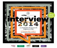 a day BULLETIN presents Interview Day 2014